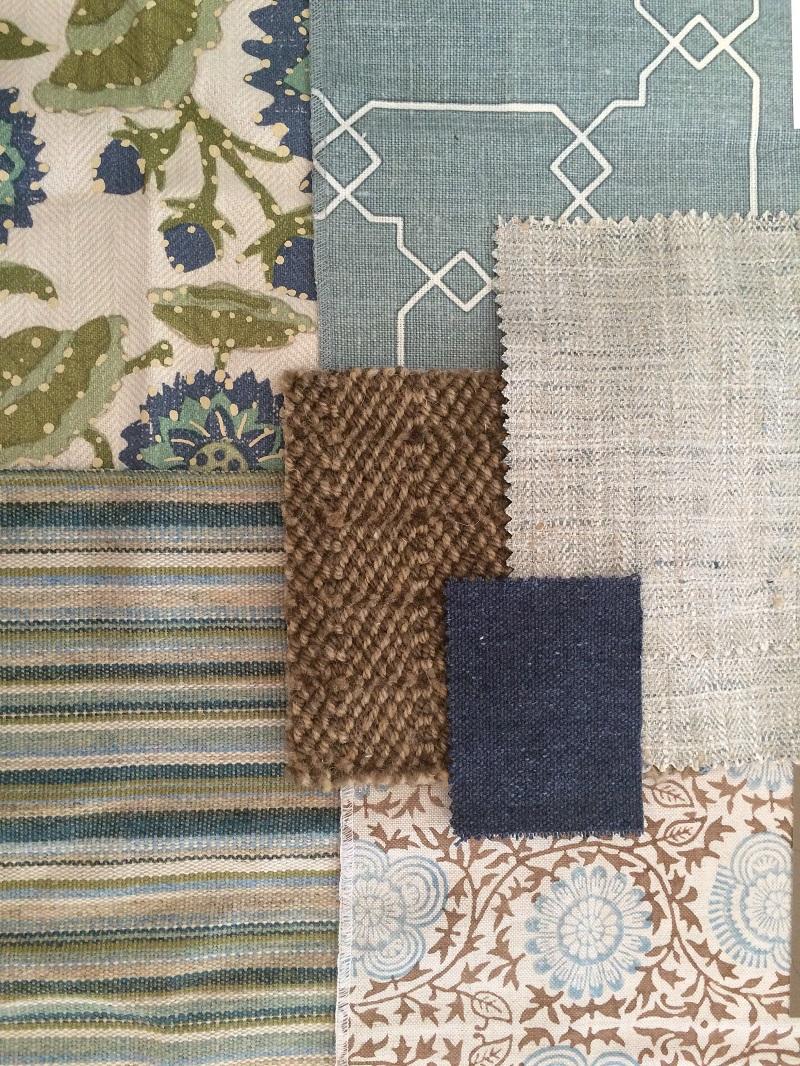 Fabric For Interior Design 15 inspiring fabric combinations - arts and homesanna hackathorn