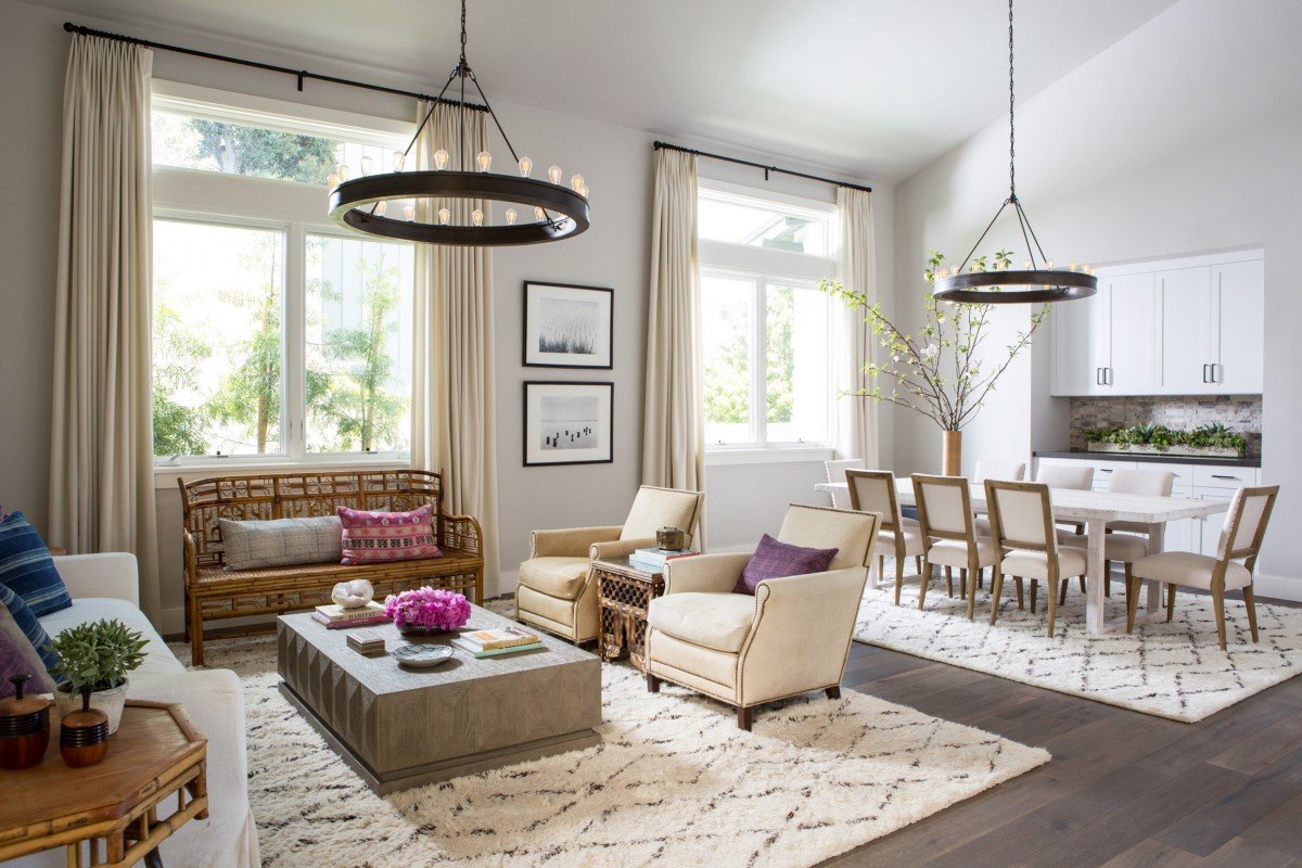 Dining living room interior design ideas in manhattan for House interior design online