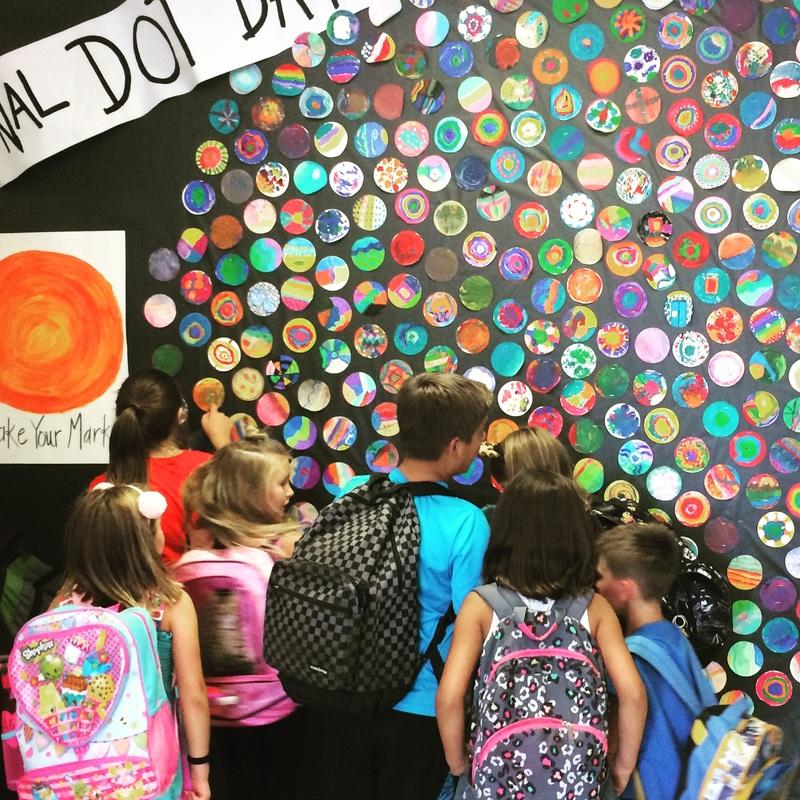 International Dot Day - THE ARTS