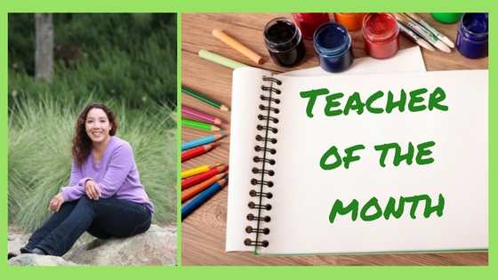 Teacher of the Month-April, 2017