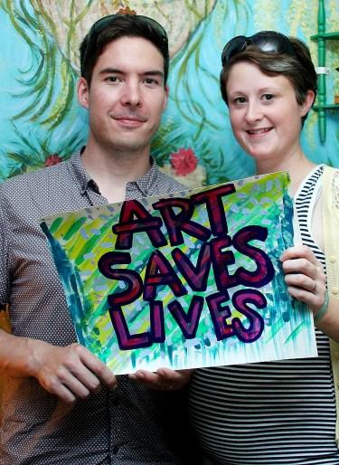 Matt and Ann - Art Saves Lives