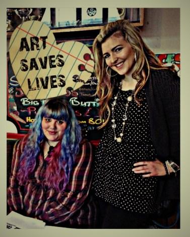 President of ASLI Charlotte Farhan and MD Lisa Reeve
