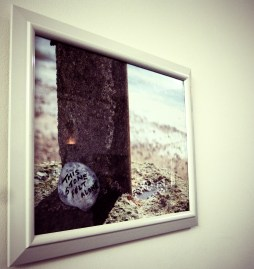 Art work in our pop exhibition by Louise Thomkinson Photography By Iain Turrell