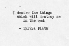 ASLI Sylvia Plath Quote