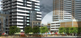 Highlight showing the Artscape Weston Hub project