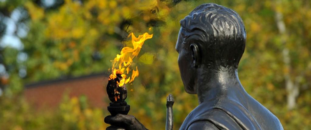 Torchbearer Statue
