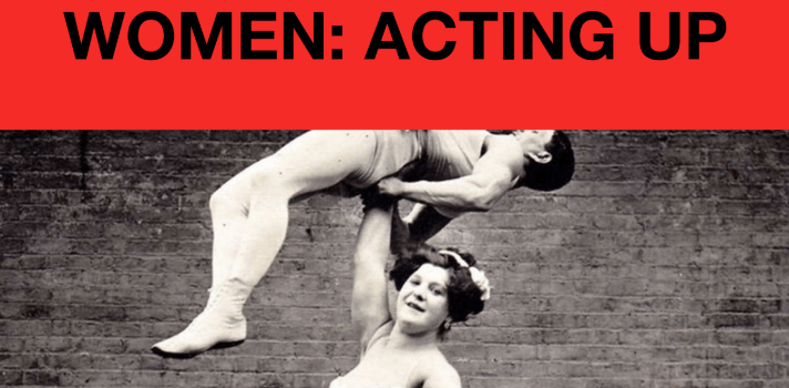 Women Acting Up poster