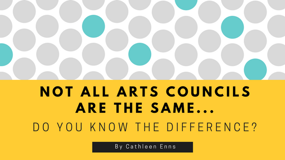Riddle what is the difference between an arts council and an arts council