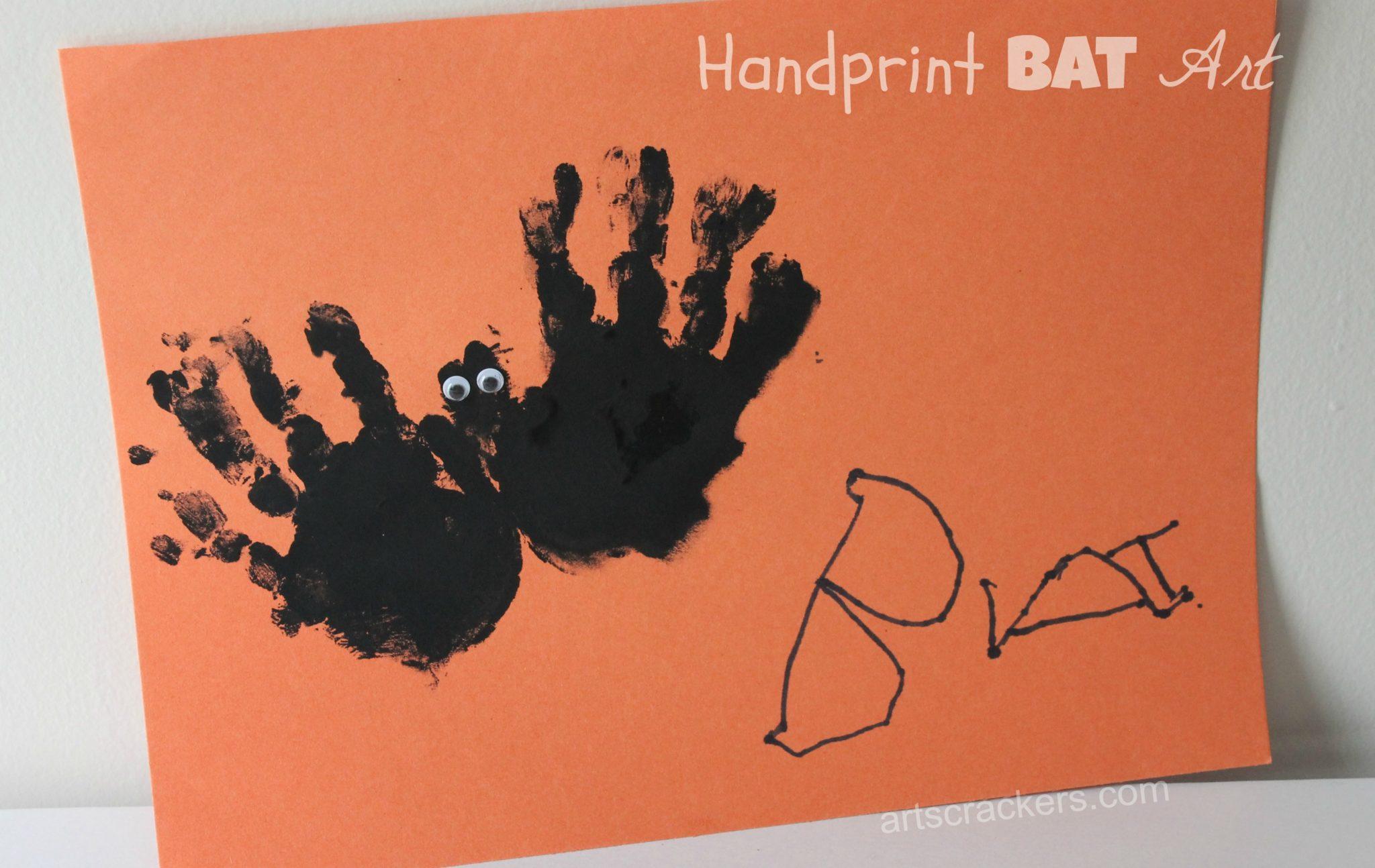 Top 5 Halloween Fall Handprint Crafts