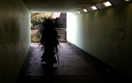 Ancient rites, art and festivals combine in the Green Man's visit to Exeter