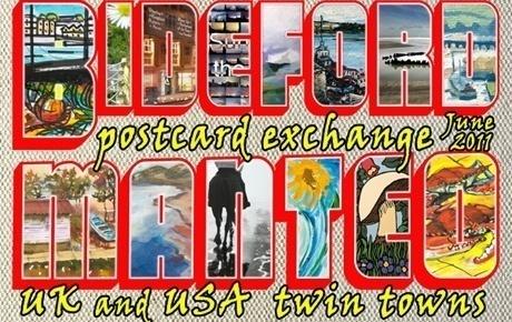 Bideford / Manteo Postcard Exchange.