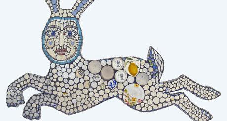 Cleo Mussi's zesty white bunny