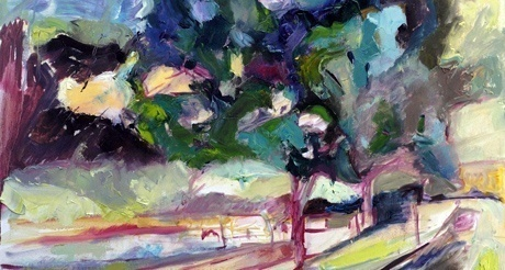 Ann Chester King's Biarritz Trees