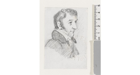 Constable drawing of Lord Byron found in Exeter
