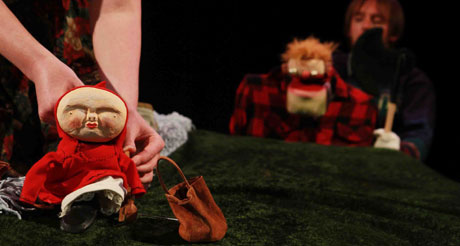 Little Red Riding Hood story with an identifiable setting at The Bikeshed Theatre