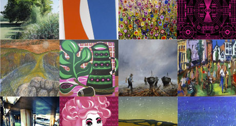 Exeter's Gloss Gallery's new artists exhibition