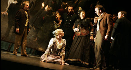 'English Touring Opera in the 2007 production of Eugene Onegin'