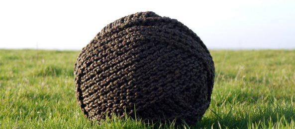 Edward Crumpton rope sculpture