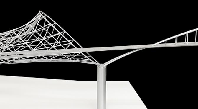 Architecture and other creative processes: 3-2=1: Bridge, Bangle & Cornice