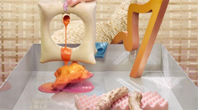 Bubble-gum factory inspiration for Antonio Marguet at the Exeter Phoenix