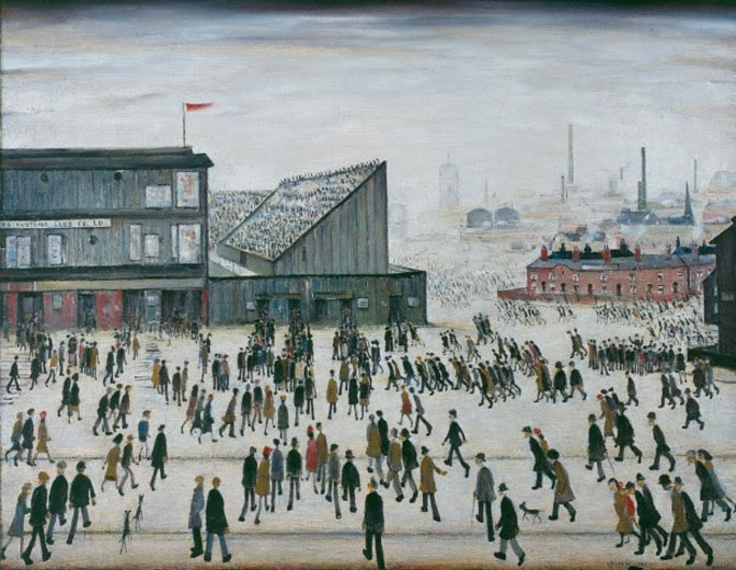 A new exhibition showcasing the work of LS Lowry opens at… The Lowry