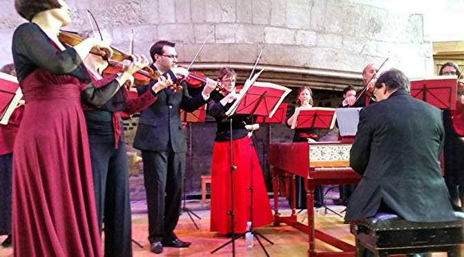 Devon Baroque at the Great Hall Dartington 11/10/15