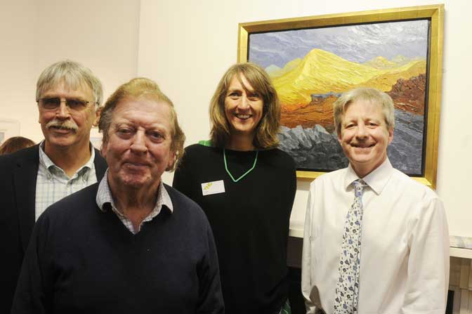 Successful launch of South West Academy exhibition at East Devon's popular Thelma Hulbert Gallery