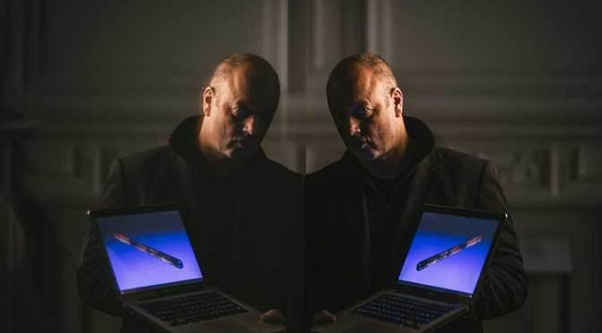 Rod Dickinson with the 3D truncheon. Courtesy of Matt Austin.