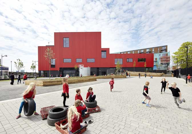 Plymouth School of Creative Arts shortlisted for RIBA architectural award