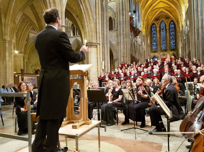 Sublime Three Spires Singers at Truro Cathedral