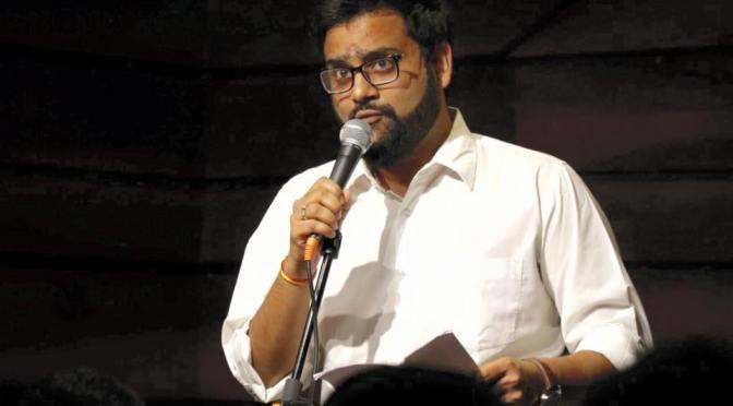 Poet Prankur Chaturvedi