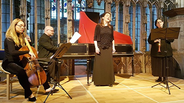 Ideal end to Totnes Early Music Society season with delightful recital by Concentus VII