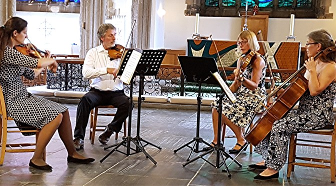 Elan and enjoyment: the Wivelscombe String Quartet at St Andrews, Plymouth