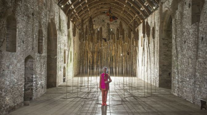 A farewell to Andrew Logan's 'Art of Reflection' at Buckland Abbey