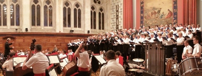 'Two jewels of the local music scene': Plymouth Philharmonic Choir with the Orchestra of the Band of HM Royal Marines