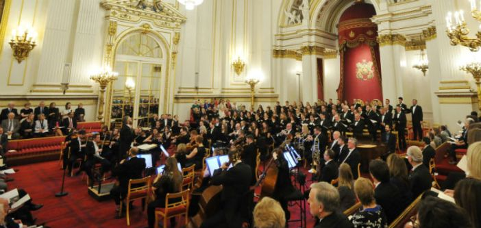 Bournemouth Symphony Orchestra performs at Buckingham Palace