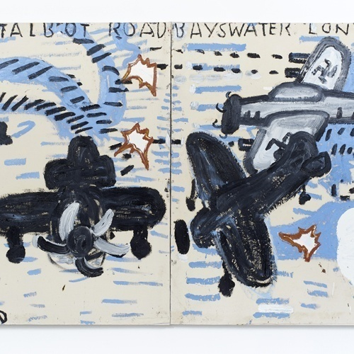 Internationally-renowned painter Rose Wylie creates new work for Plymouth in multi-site exhibition – 'History Painting'