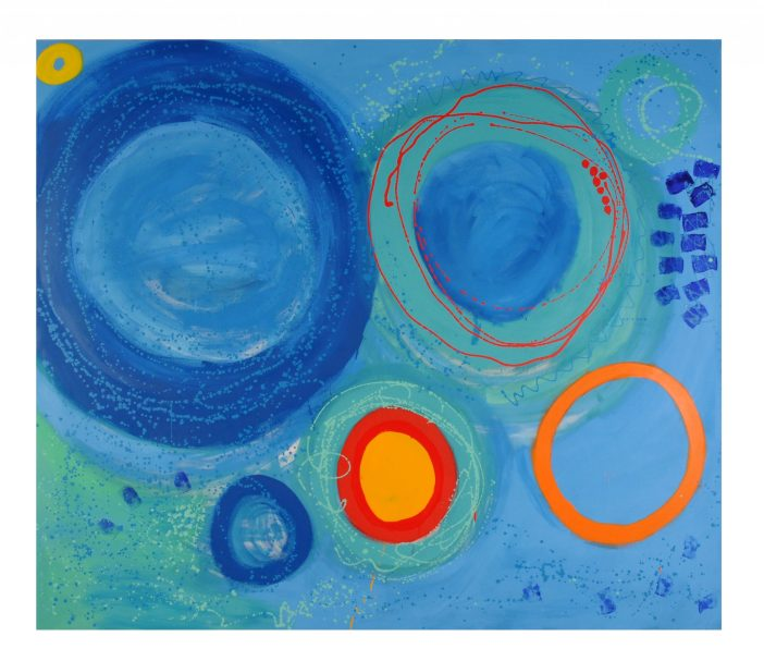 'Everything that we are and have known and have experienced comes into play' | abstract artist Sandy Brown talks about her work (interview)