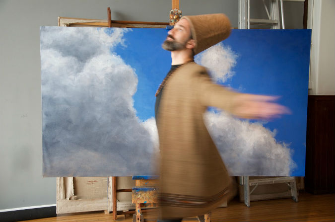 Inspired by creative revolution | Iranian artist Darvish Fakhr's No Man's Land