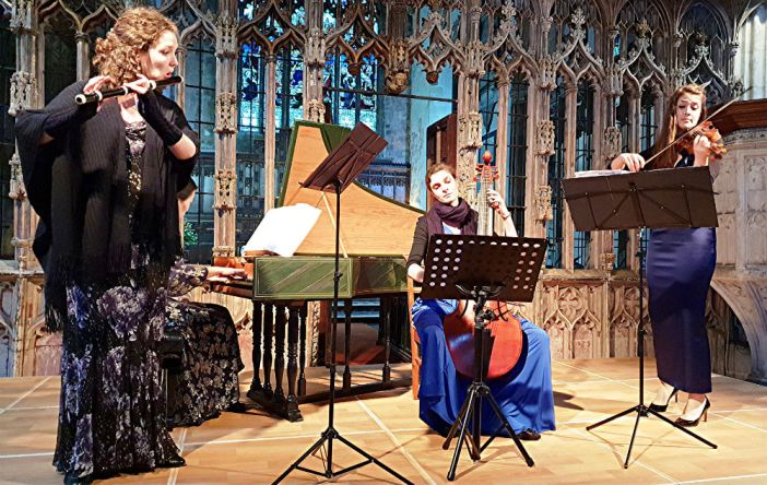 Ensemble Molière round off Totnes Early Music Society season on a real high