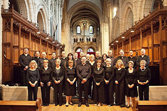 Rare performance of sacred composers with Devon connection from Voces at Buckfast Abbey