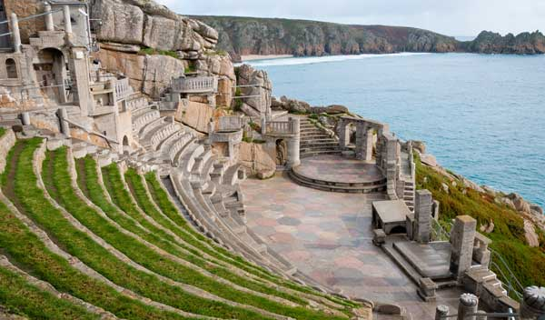 Cornwall's Minack Theatre, Porthcurno, win's UK's top Hidden Gem title
