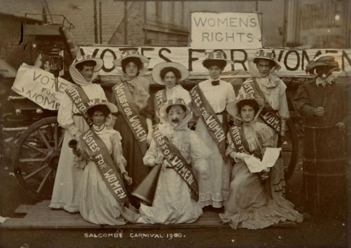 Suffragettes, shellfishermen and storylines, the changing faces of social history | A Face in the Crowd exhibition in South Devon