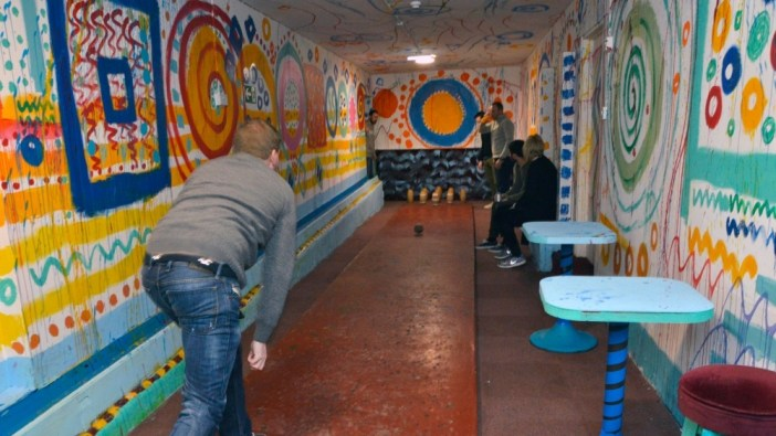 Sandy Brown art breathes new life into community venue