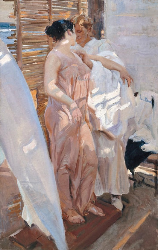 Welcome spring. Welcome Sorolla, Spanish Master of Light
