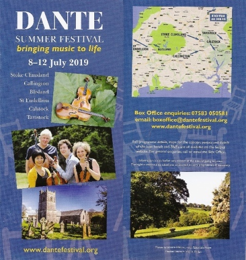 Dante Festival inspiring and entertaining in the Tamar Valley