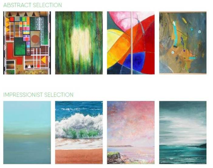 Original Cornish art rental for business, designers and people