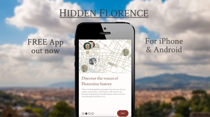 Hidden Florence app lets you explore through history