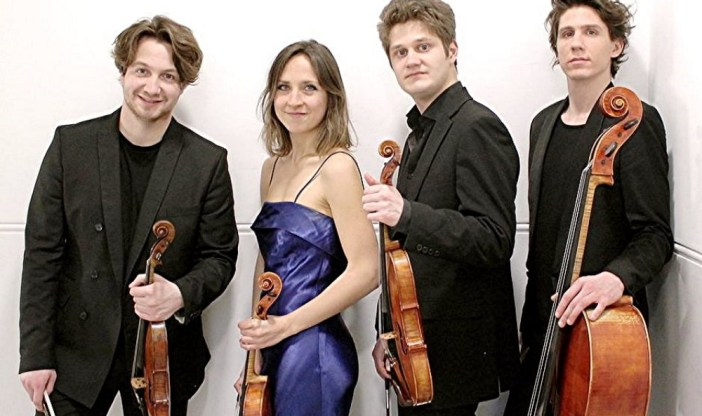 Charismatic Ruisi Quartet in Teignmouth for Nadsa
