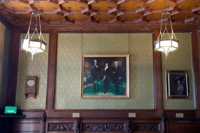 Nancy Astor painting takes its place in Westminster